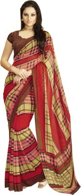 Miss Perfect Printed Fashion Georgette Sari