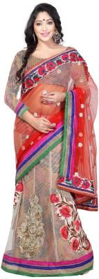 Lakmeart Embriodered Daily Wear Jacquard Sari