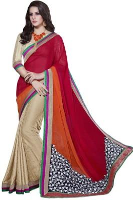 Chandramoulifashion Self Design Fashion Chiffon Sari