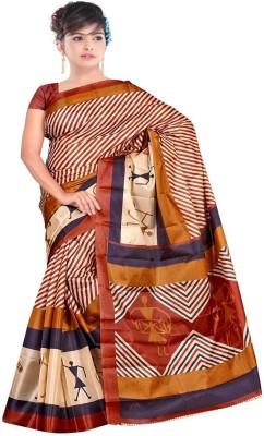 Sarees Rinkesh Printed Fashion Art Silk Sari