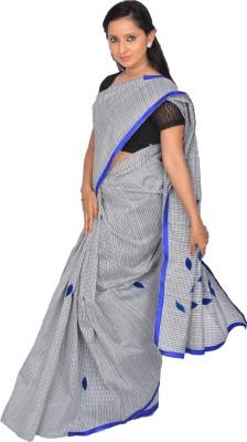 Pooja Checkered Daily Wear Handloom Cotton Sari
