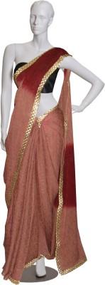 Serwans Plain Daily Wear Synthetic Sari
