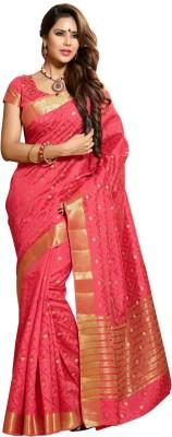 Kuberan Polka Print Daily Wear Silk Sari