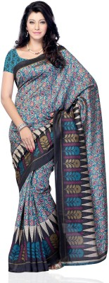 Diva Fashion-Surat Printed Daily Wear Handloom Jacquard Sari