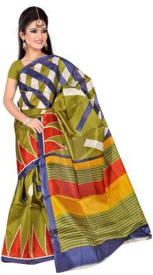 DFTZ Printed Bhagalpuri Silk Sari