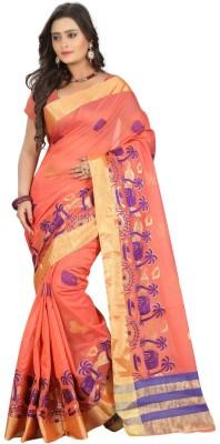 Pari Fashion Self Design Fashion Cotton, Silk Sari