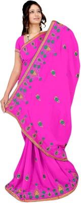 Chinco Self Design Fashion Georgette Sari
