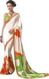Preet Creations Printed Fashion Crepe Sa...