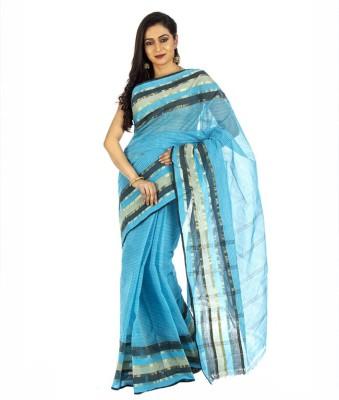 Aadrika Woven Tant Handloom Cotton Sari