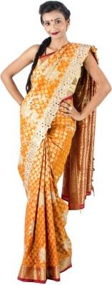 Vividha Embriodered Kanjivaram Art Silk Sari