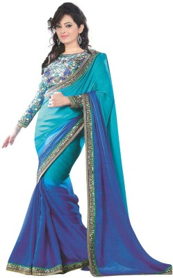 Laxmi Sarees Self Design Fashion Silk Sari