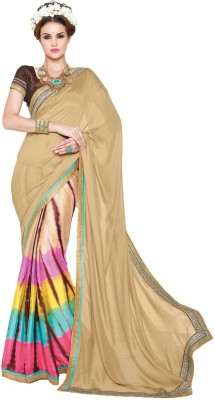 Suitevilla Printed Fashion Pure Georgette Sari