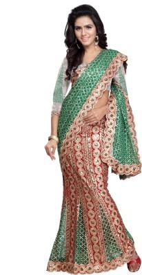 Panchi Embriodered Bollywood Net Sari