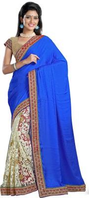 Firstloot Self Design Fashion Net Sari
