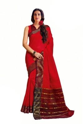 Signature Fashion Printed Bollywood Cotton Sari