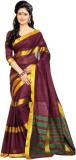 Aswani Striped Fashion Cotton Saree (Mul...