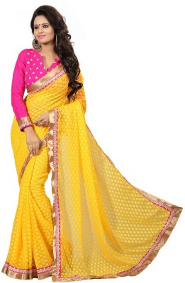 Regalia Ethnic Embriodered Fashion Viscose Sari