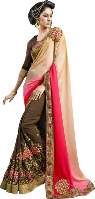 Bliss Era Embriodered Fashion Georgette Sari