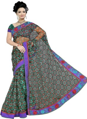 Mohta Fashions Embriodered Fashion Synthetic Sari