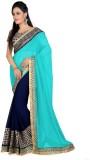 Vivera Fashion Solid Bollywood Georgette...