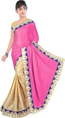 Diva Divine Embriodered Fashion Jacquard Sari