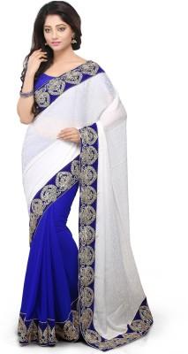 Bay & Blue Embriodered Fashion Jacquard Sari