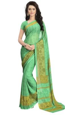 Vaamsi Printed Daily Wear Chiffon Sari