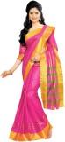 Aswani Striped Fashion Cotton Saree (Pin...