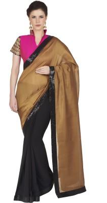 Designersareez Embriodered Fashion Georgette Sari