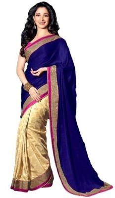 Texclusive Self Design Bollywood Georgette Sari