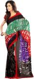 Stylish Girls Printed Fashion Art Silk S...