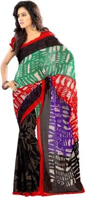 Party Wear Dresses Printed Fashion Art Silk Sari