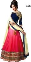 Kia Fashions Chaniya, Ghagra Cholis - Kia Fashions Embroidered Women's Lehenga, Choli and Dupatta Set(Stitched)