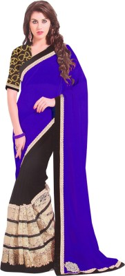 Shyam Creations Printed Bollywood Handloom Georgette Sari