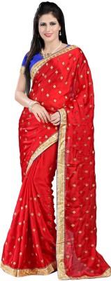 Rachaiyta Self Design Bollywood Satin Sari