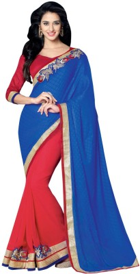 Desi Look Self Design Bollywood Georgette Sari