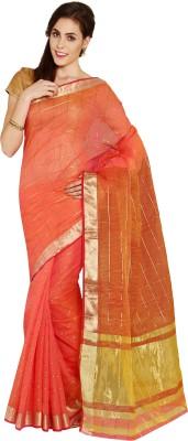 Aryahi Solid Fashion Art Silk Sari