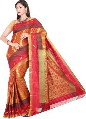 datta Woven Kanjivaram Art Silk Sari