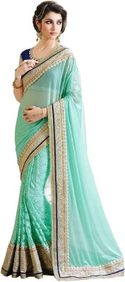 Lady Berry Embriodered Fashion Georgette Sari