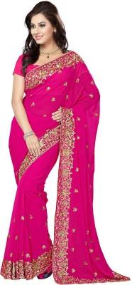 RA Embriodered Bollywood Chiffon Sari