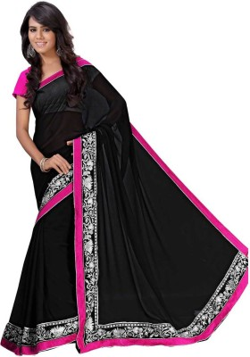 Kavya Shopping Embriodered Daily Wear Georgette Sari