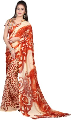 Fashion Tadka Printed Daily Wear Chiffon Sari