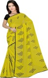 Pawan Tex Printed Fashion Satin Saree (Y...