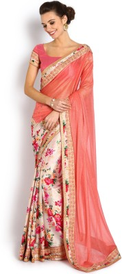 Soch Floral Print Fashion Viscose Sari