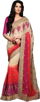 Vastrangsarees Self Design Fashion Georgette Sari