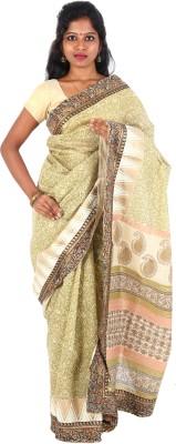 Orchids Plain Daily Wear Handloom Cotton Sari