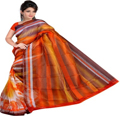 Kristel Garments Printed Bollywood Net Sari