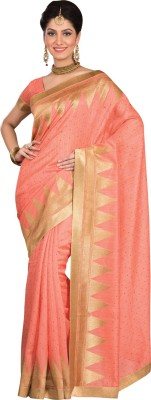 Kuberan Polka Print Fashion Raw Silk Sari
