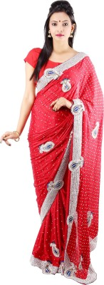 Laxmi Kripa Printed Fashion Handloom Silk Sari