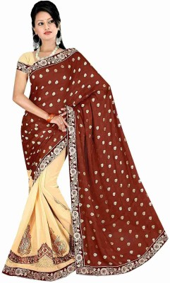 Dkcreation Embriodered Fashion Viscose Sari